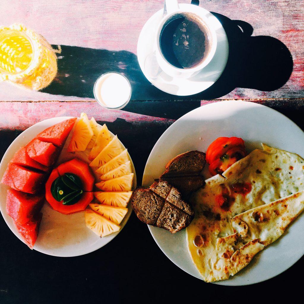 Breakfast in Gili Air