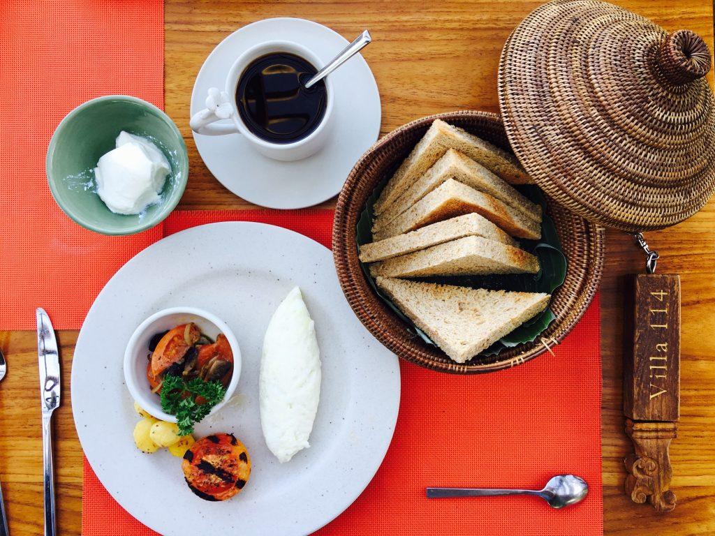 Breakfast at Waka Gangga