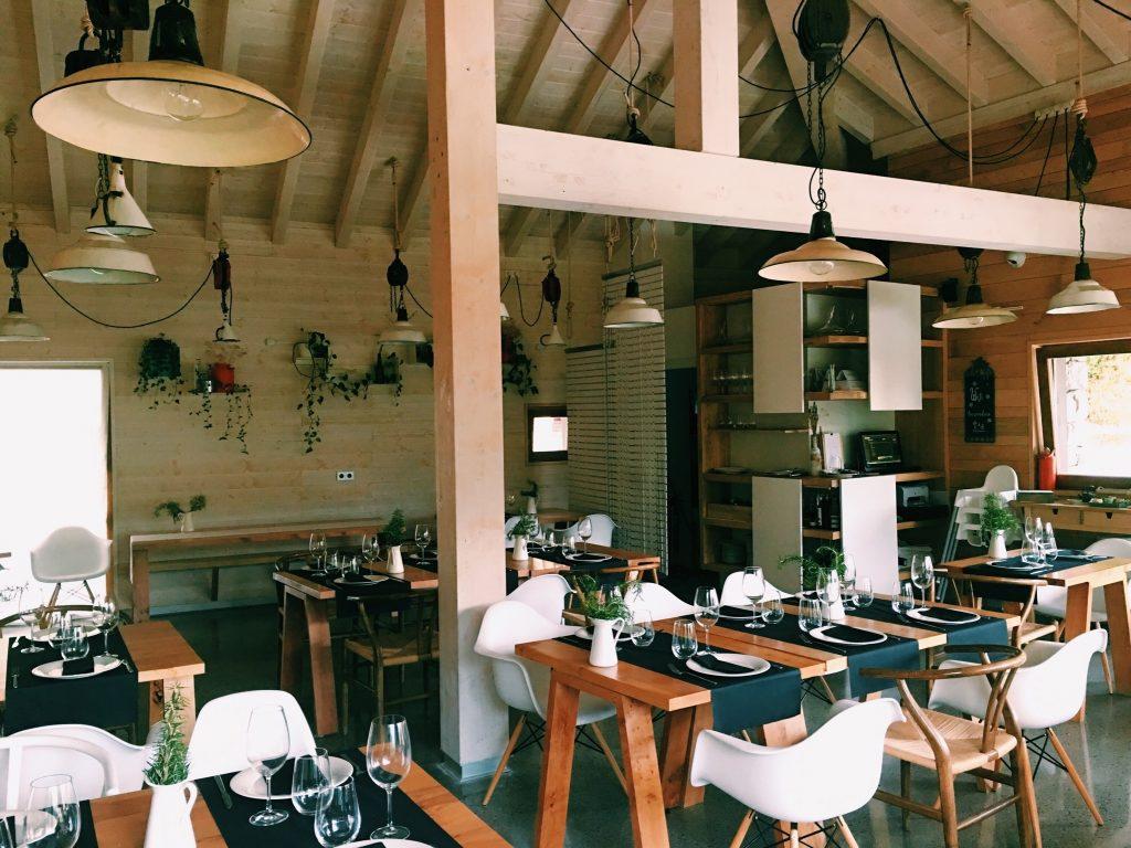 Restaurante, Tierra del agua