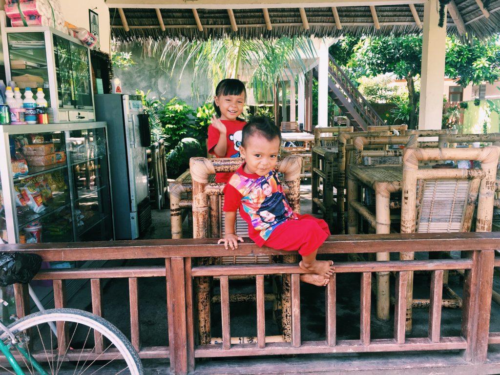 Kids, Gili Air