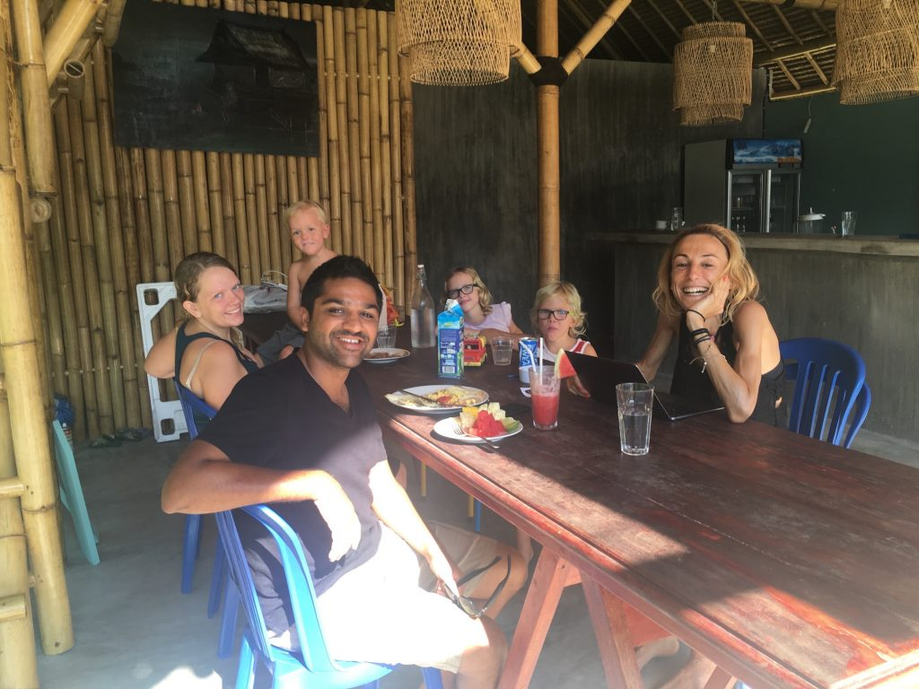 Breakfast at Good Times Bungalows