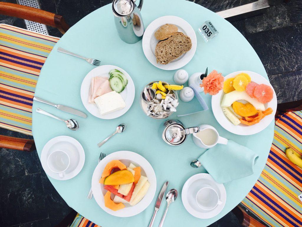 Breakfast at Seaside Palm Beach