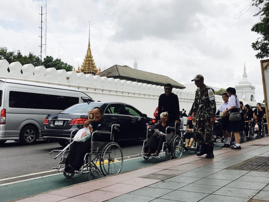 Outside the Royal Palace, Bangkok