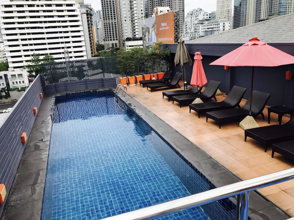 Hotel Solo Sukhumvit 2, rooftop