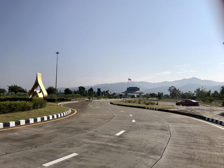 Laos-Tailand Border