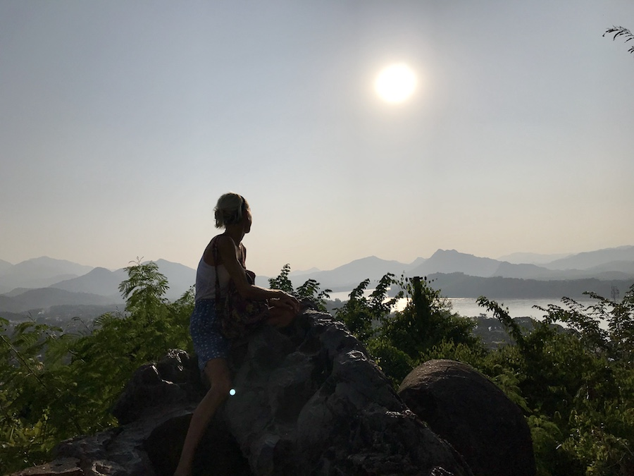 Luang Prabang, Mount Phosi
