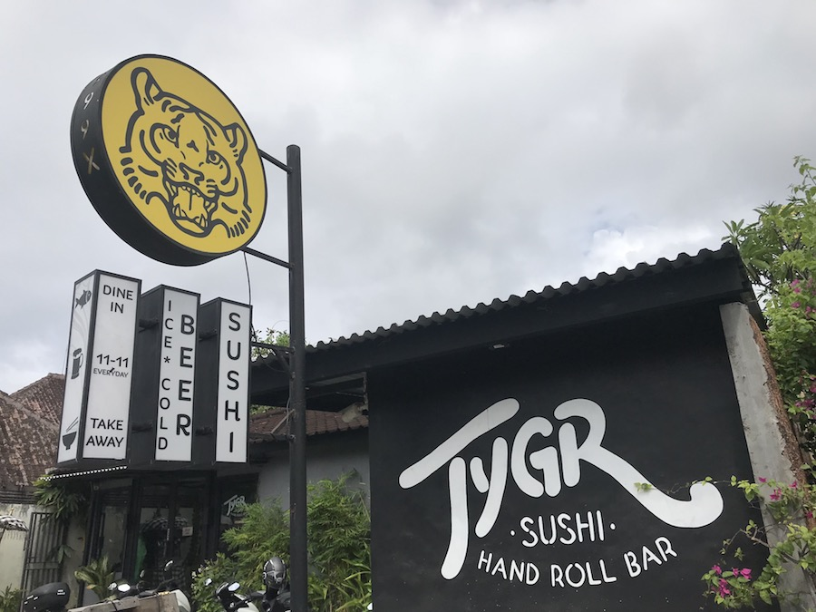 Tygr Sushi Bali
